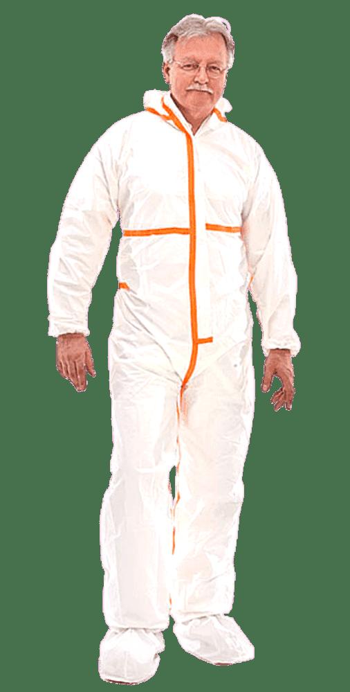 Schutzanzug gegen Viren und Chemikalien - Secutex® SL Kat. III Typ 4-B + 5-B + 6-B