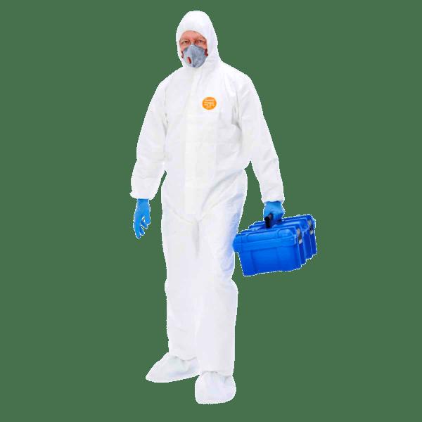 Schutzanzug gegen Viren und Chemikalien - Secutex® pro 56 Kat. III Typ 5-B + 6-B