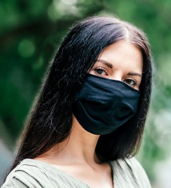 FFP2 Masken Schwarz
