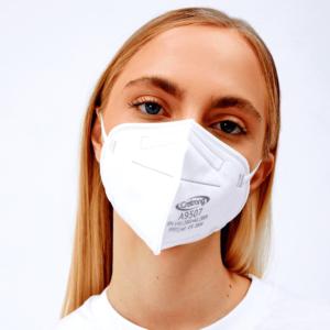 FFP2 Mundschutz Maske mit Kopfband