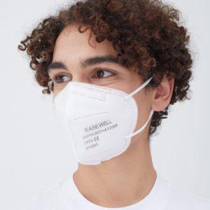 FFP2 Zertifizierte Einweg Atemschutzmaske EASEWELL