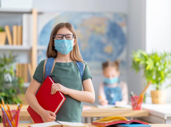 Kinder Einwegmasken Mund-Nasen-Schutz (MNS) 3-Lagig