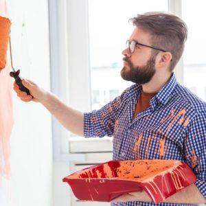 Mehrweg Schutz-Overall Paint-Tex® Profi für Maler und Lackierer, antistatisch, Blau