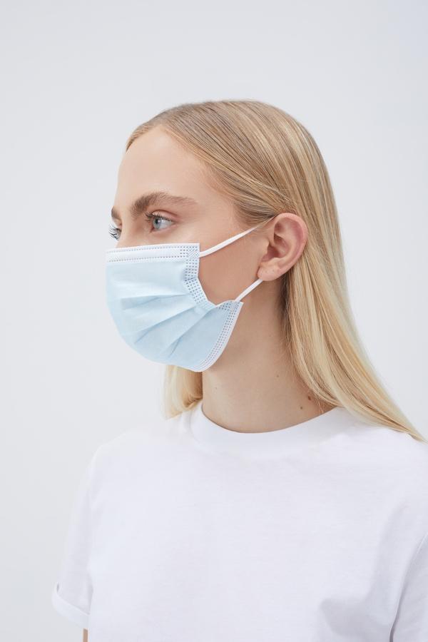 OP-Mund-Nasen-Schutzmasken (MNS) 3-Lagig