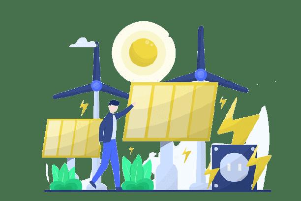 Schweizer Green Energy Rechenzentrum mit umweltfreundlichen Energiemanagement